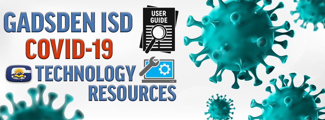 Covid19 subpages Technology Resources banner