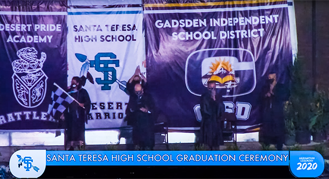 Santa Teresa High School Graduation Ceremony 2020