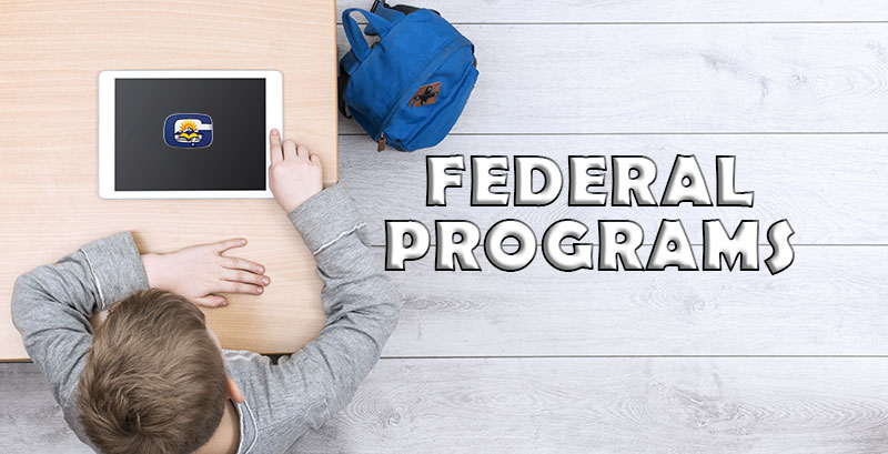 Federal Programs Department Banner