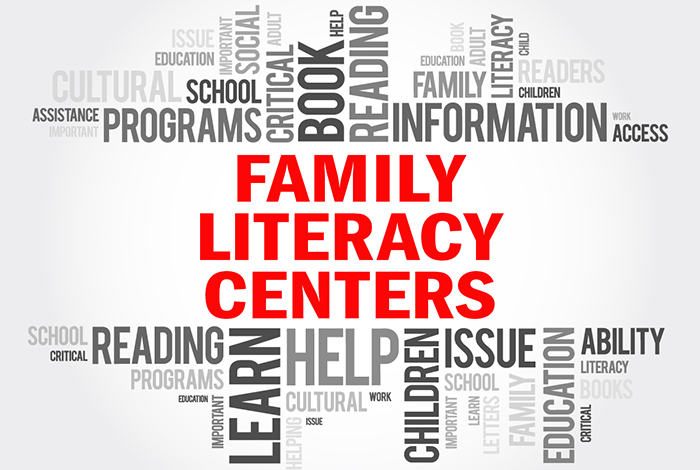 Family Literacy Centers Banner