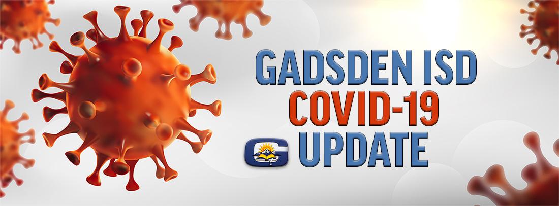 GadsdenISD COVID-19 update main banner