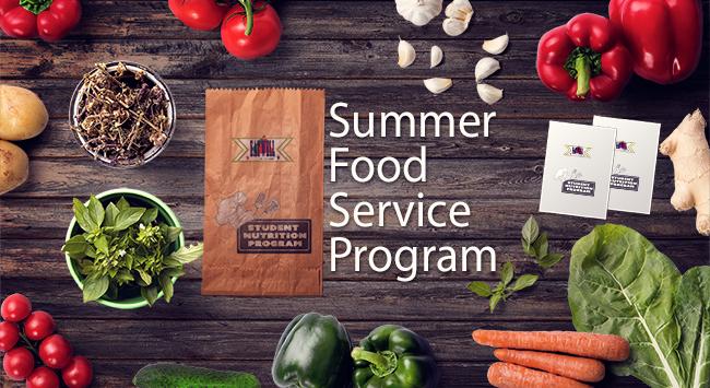 SNP Summer Meal Program 2020 banner
