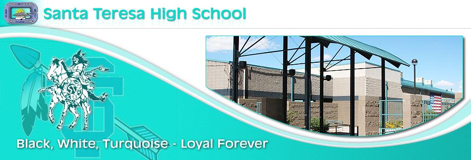 Santa Teresa High School banner