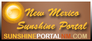 New Mexico Sunshine portal logo