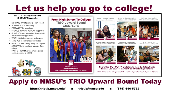 NMSU Trio Upward Bound