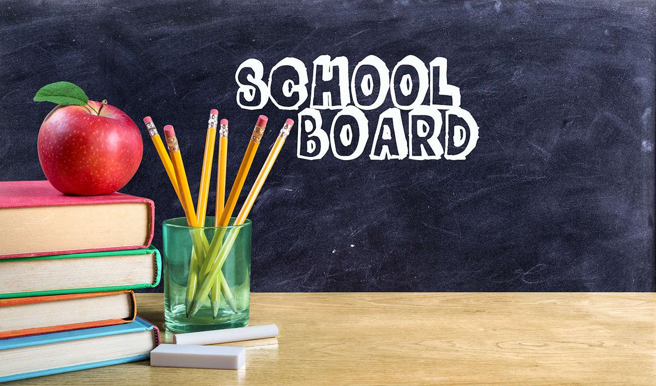School Board banner