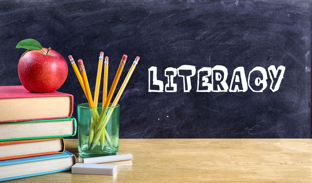 Literacy dept. banner