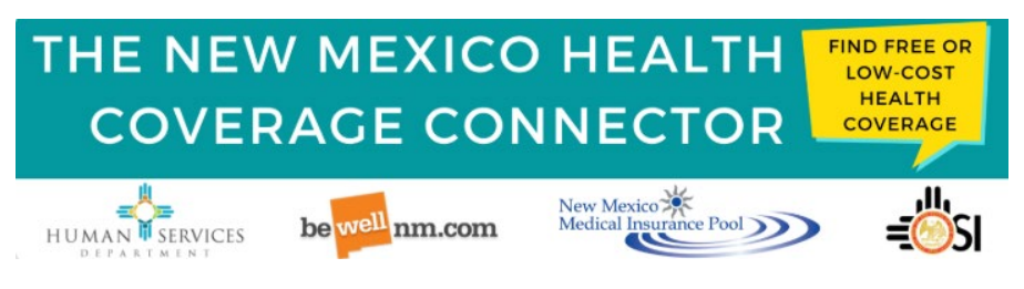 New Mexico Health Connector app banner