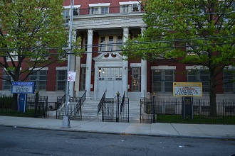 Front of school  - PS 197