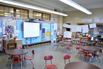 Lower grade classroom