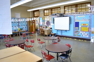 Pre K classroom