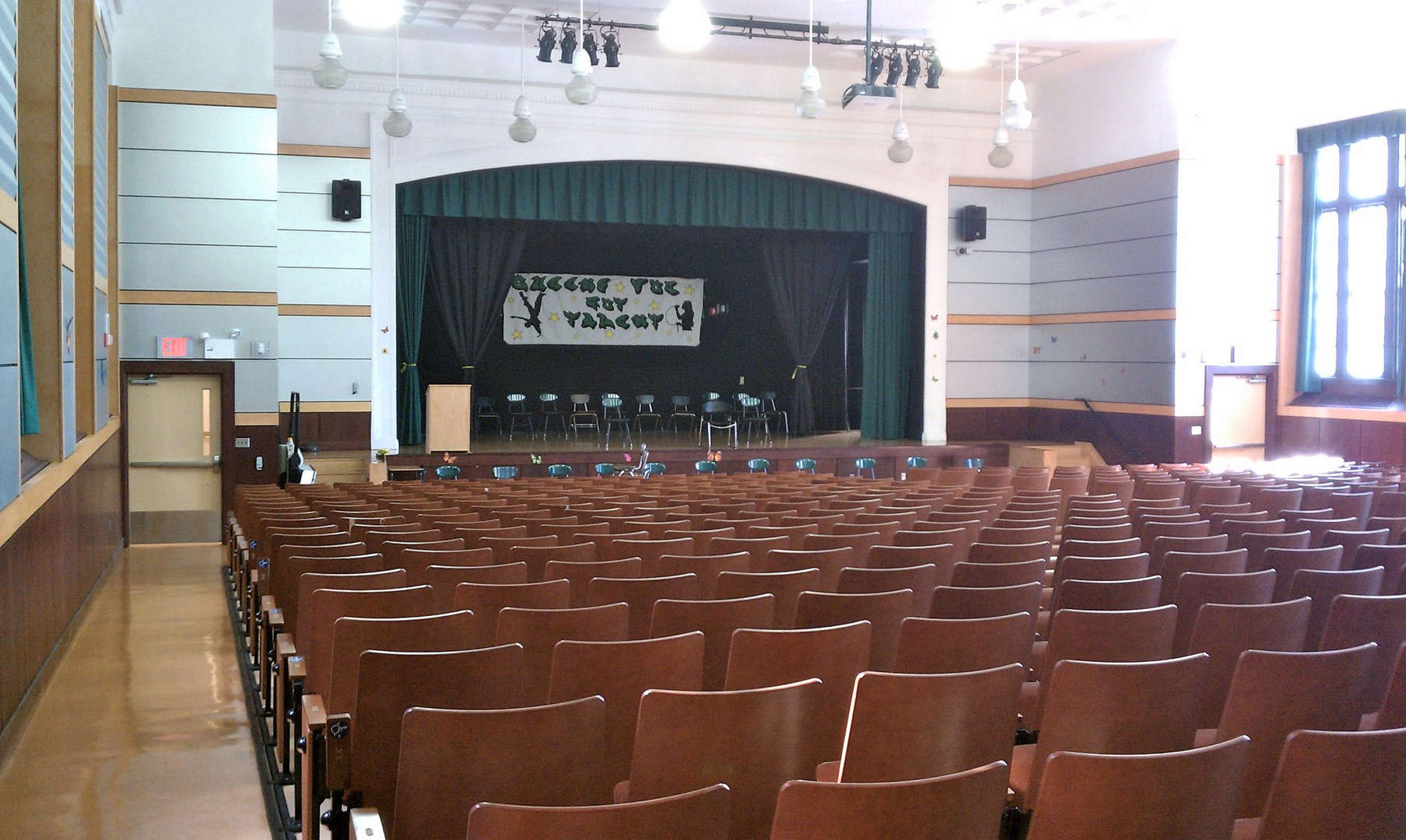Our school auditorium