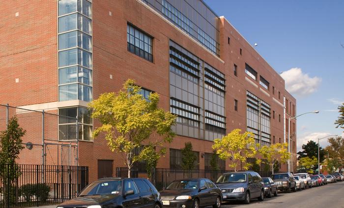 Exterior of Queens Technical High School