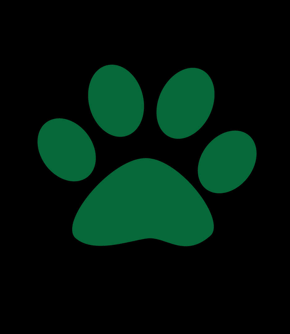 Green tiger paw