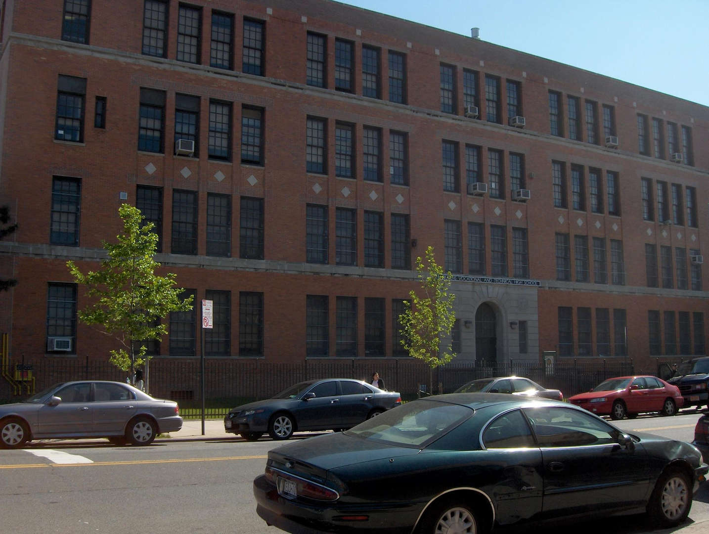 Exterior photo of Queens Technical High School