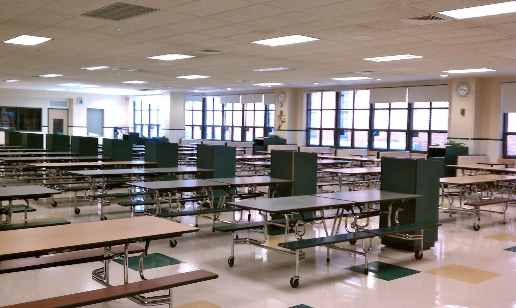 Our school cafeteria