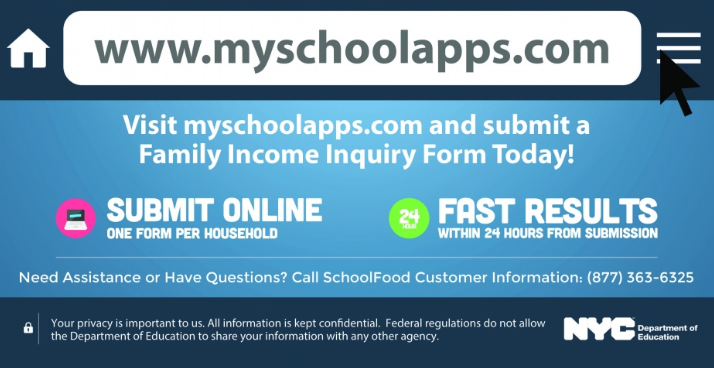 Submit your Family Income Inquiry Form