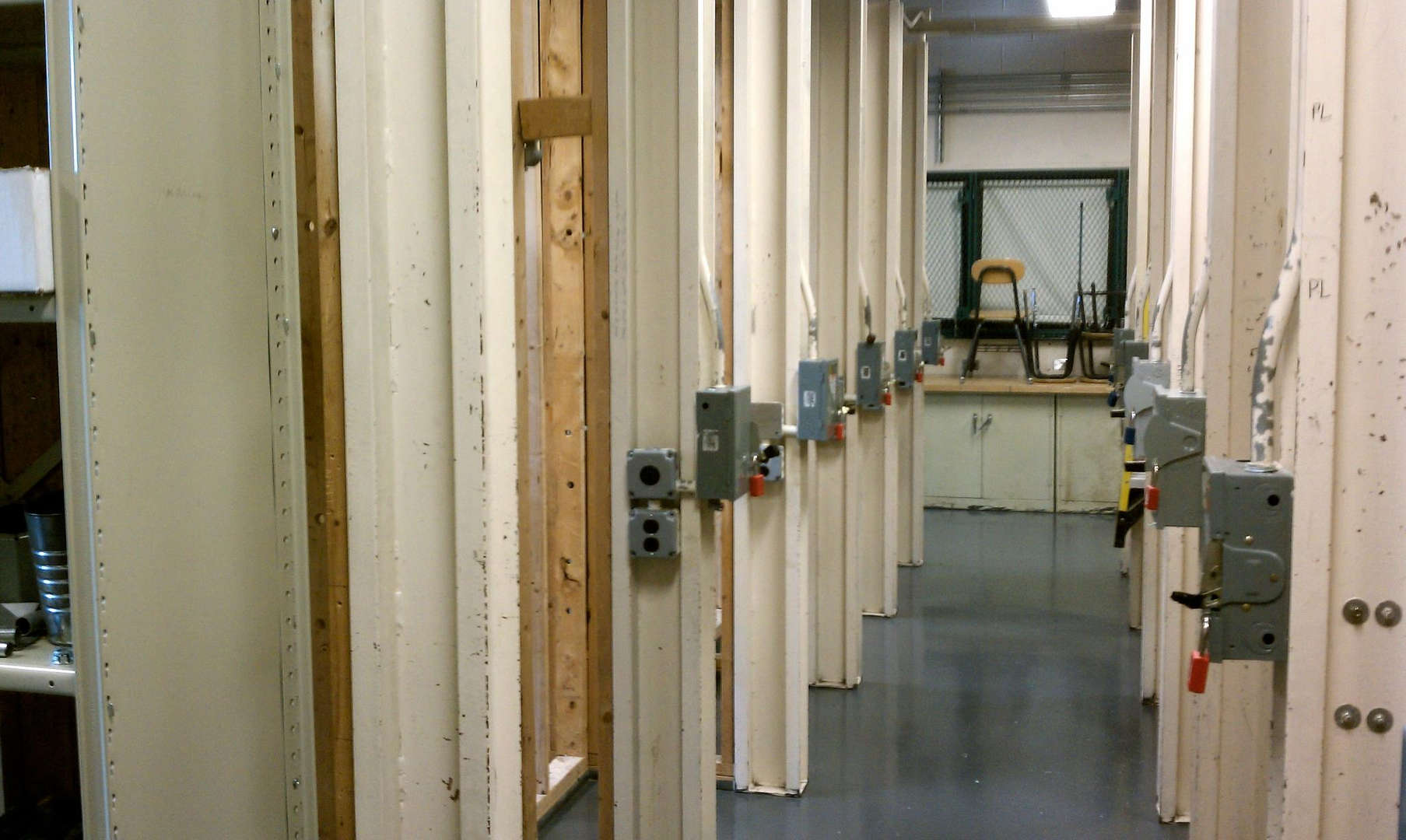 Photo of an electrical installation lab