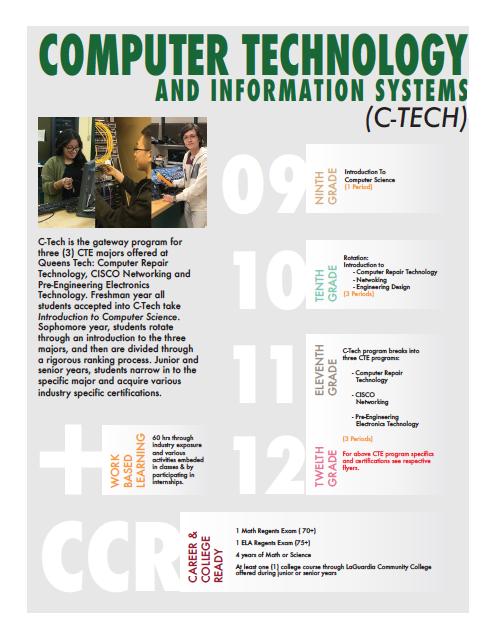 Computer tech at QTHS