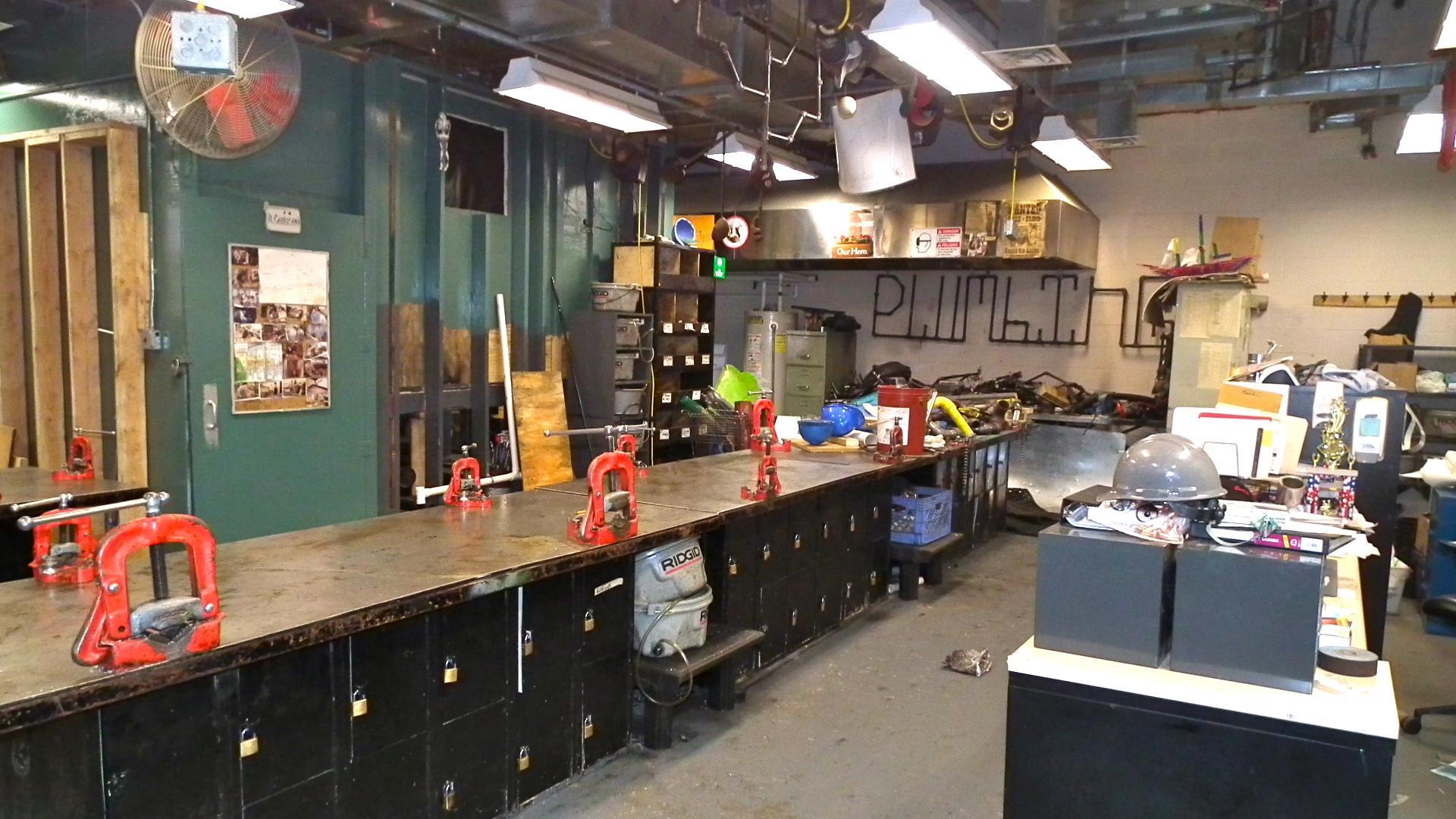 Plumbing laboratory