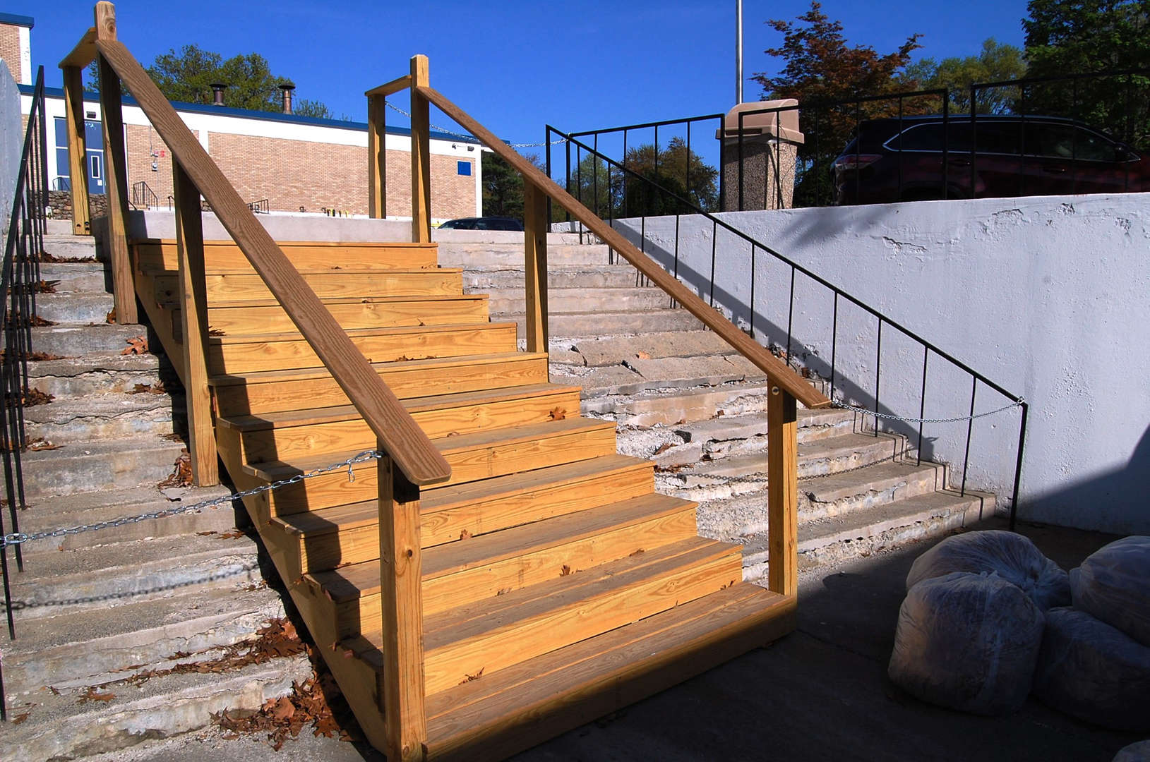 2015-16 School Budget - Old PRHS Exterior Stairs