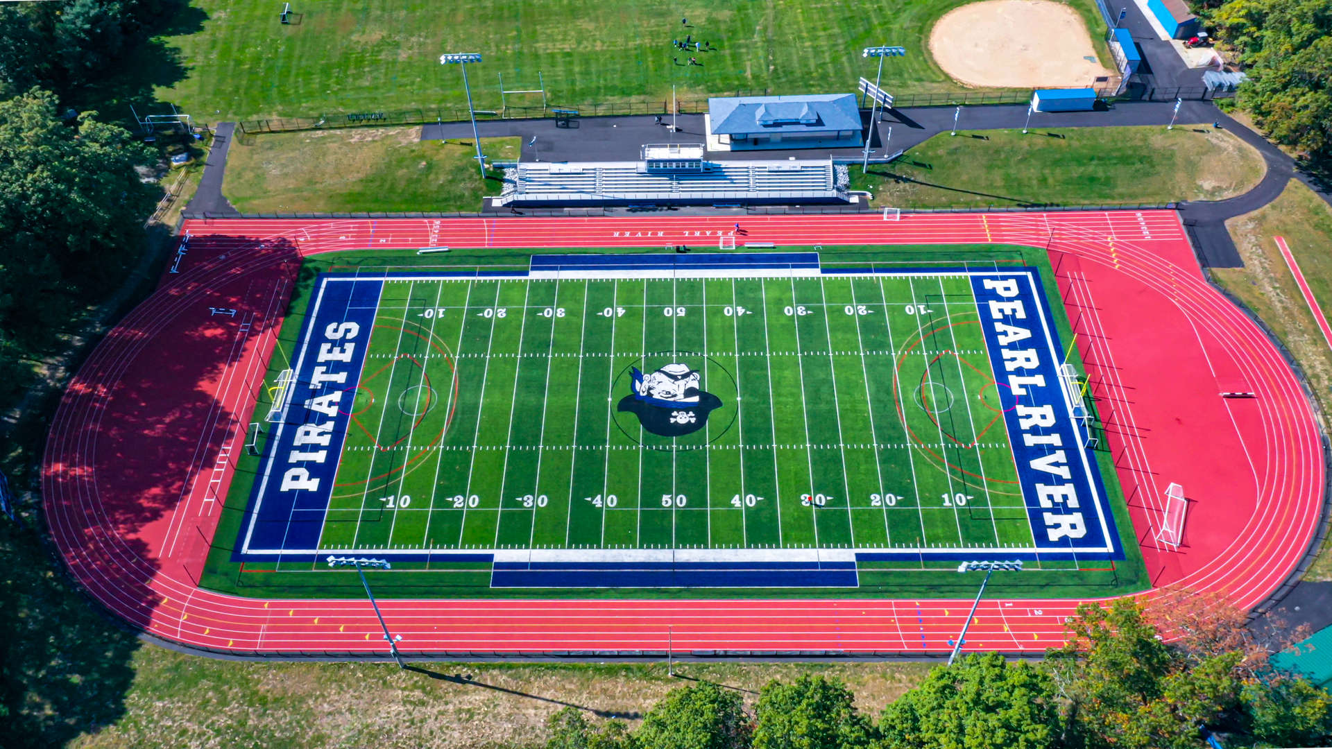 PRSD HS Turf Field - Drone Shot 1