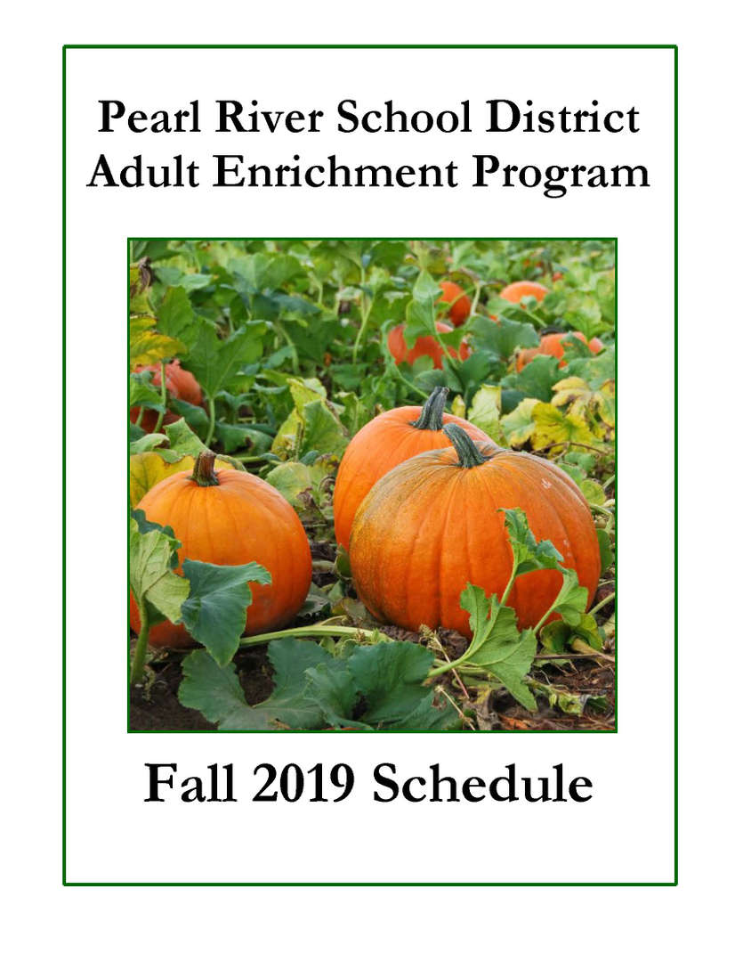 Adult Enrichment Brochure Fall 2019