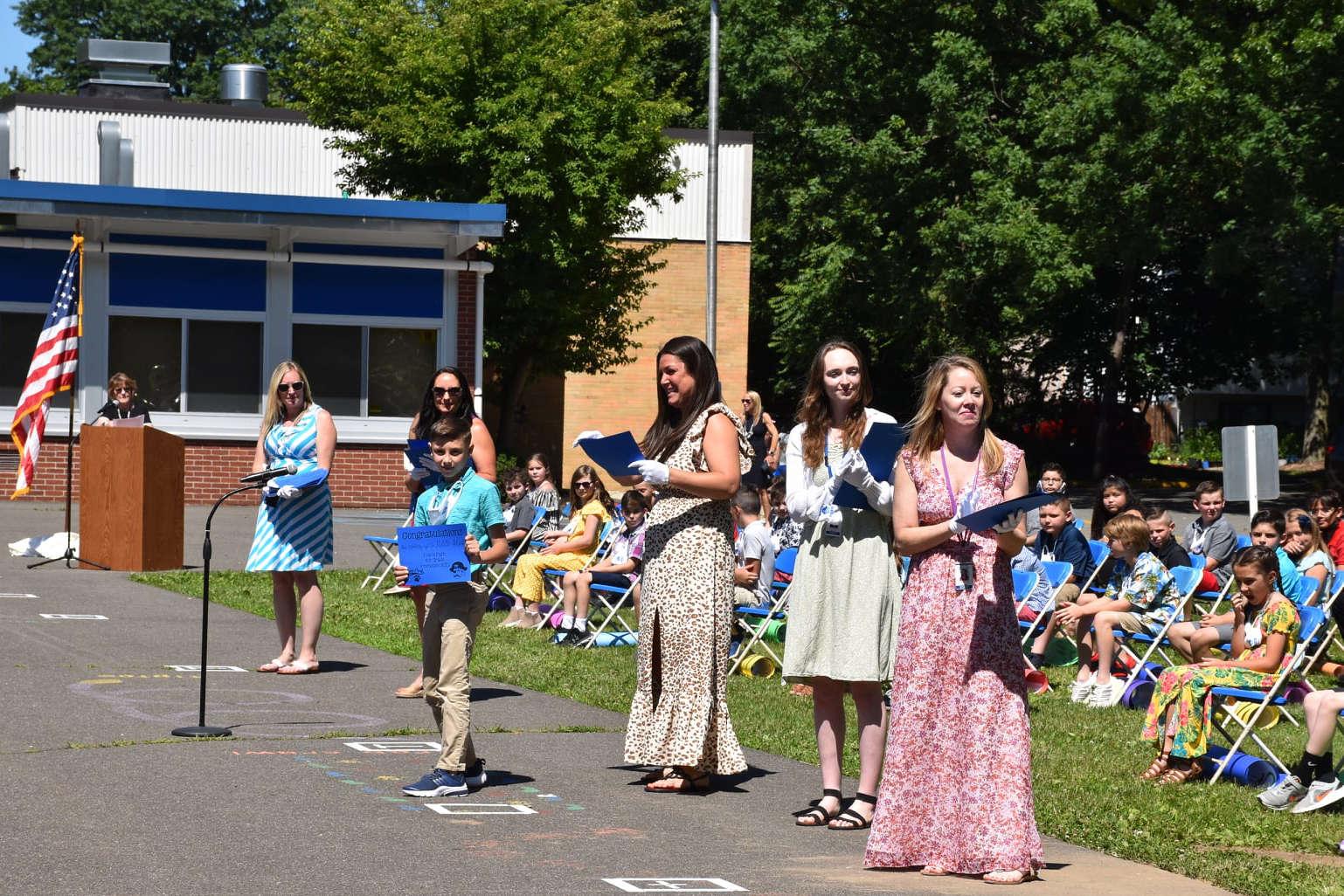 Evans Park Grade 4 Promotion Ceremony held on 6/16/21