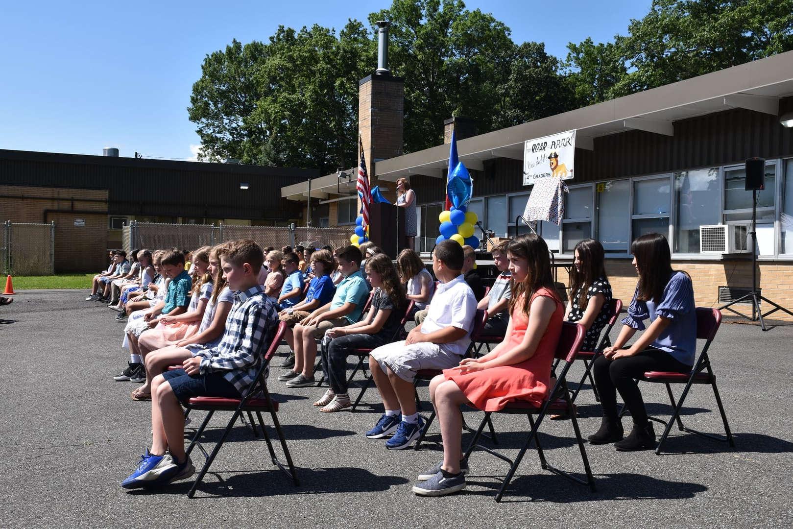 LA Grade 4 Promotion Ceremony held 6/15/21