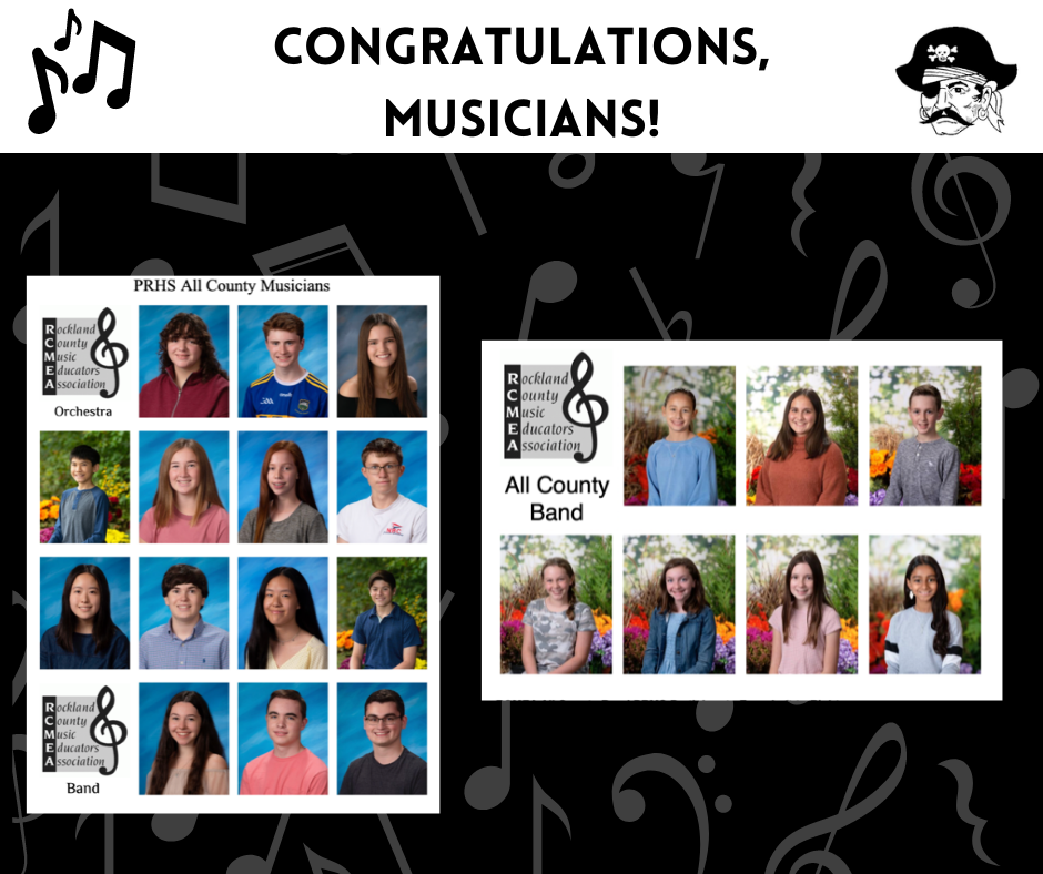 PRSD All County Musicians & Bands