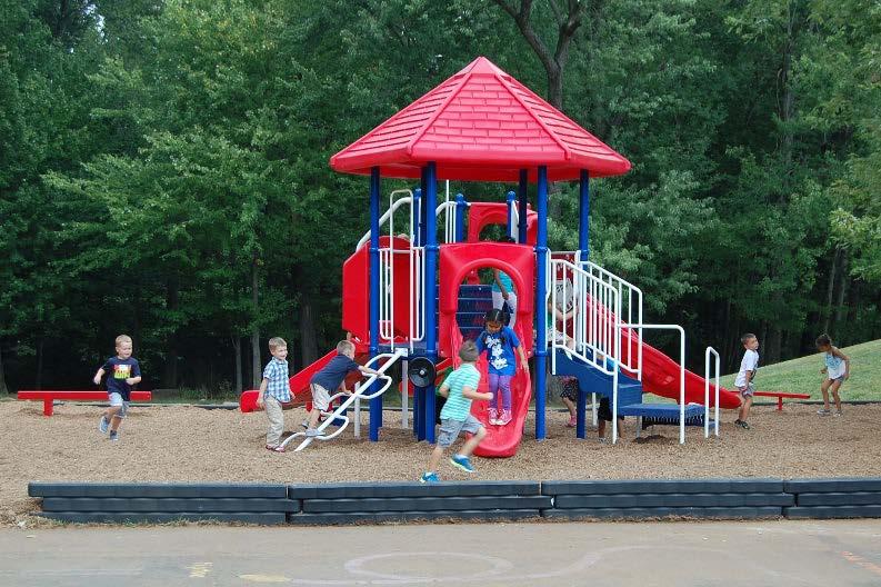 Evans Park Summer Work Playground