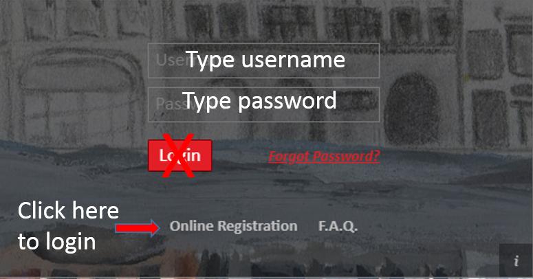 Registration for Non Parent-Portal Users