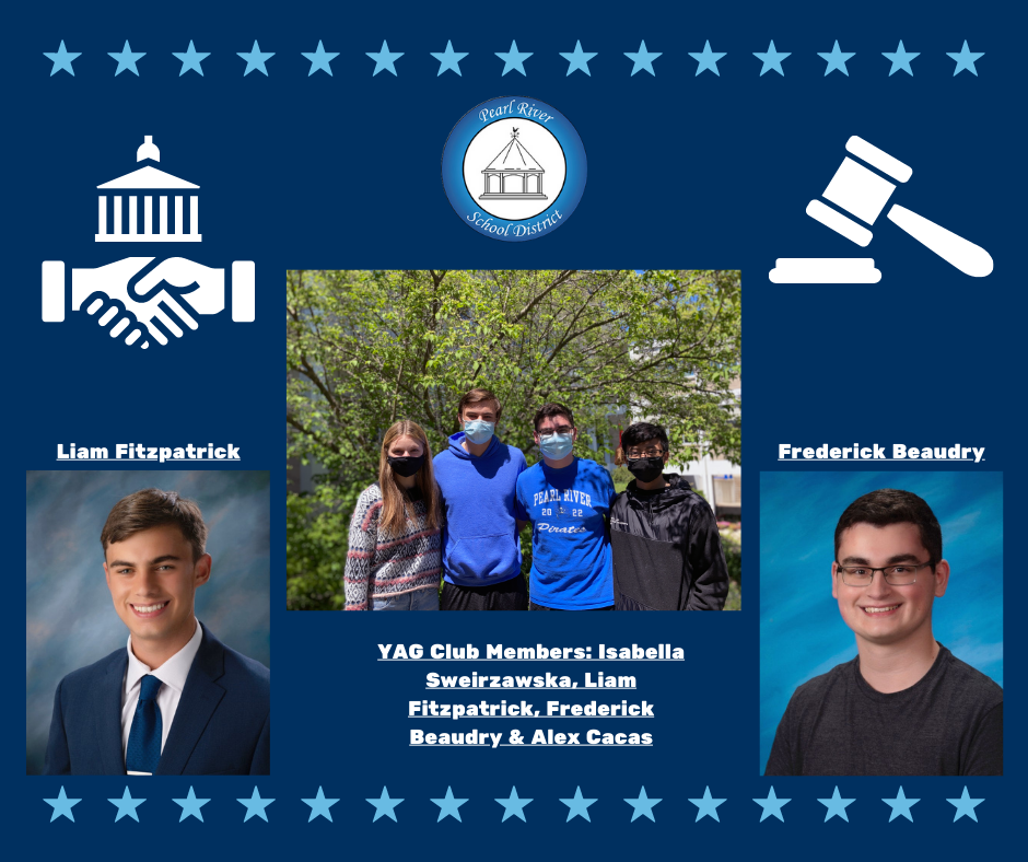 PRHS Youth and Government Club (YAG) members