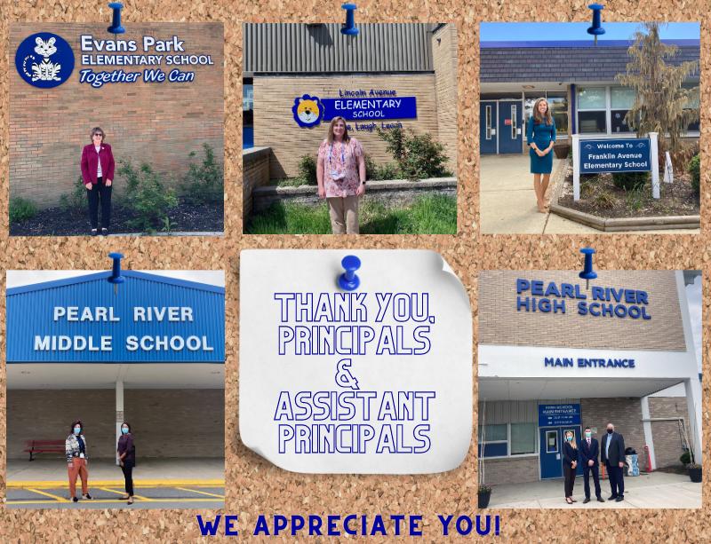 PRSD Principal Thank Yous