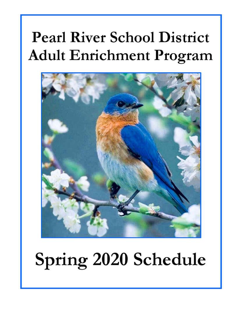 Adult Enrichment Spring 2020 Brochure