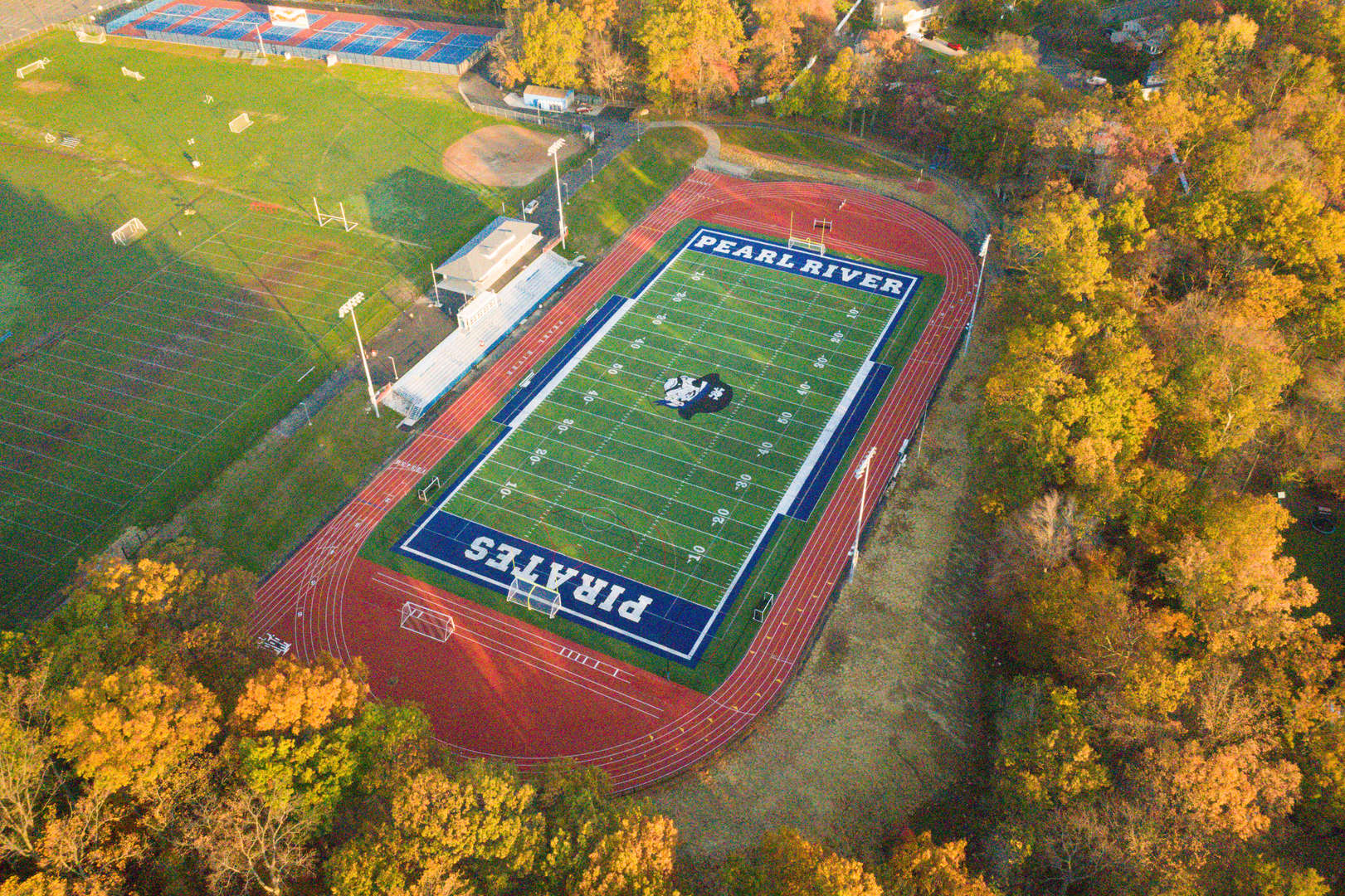 Field picture from above
