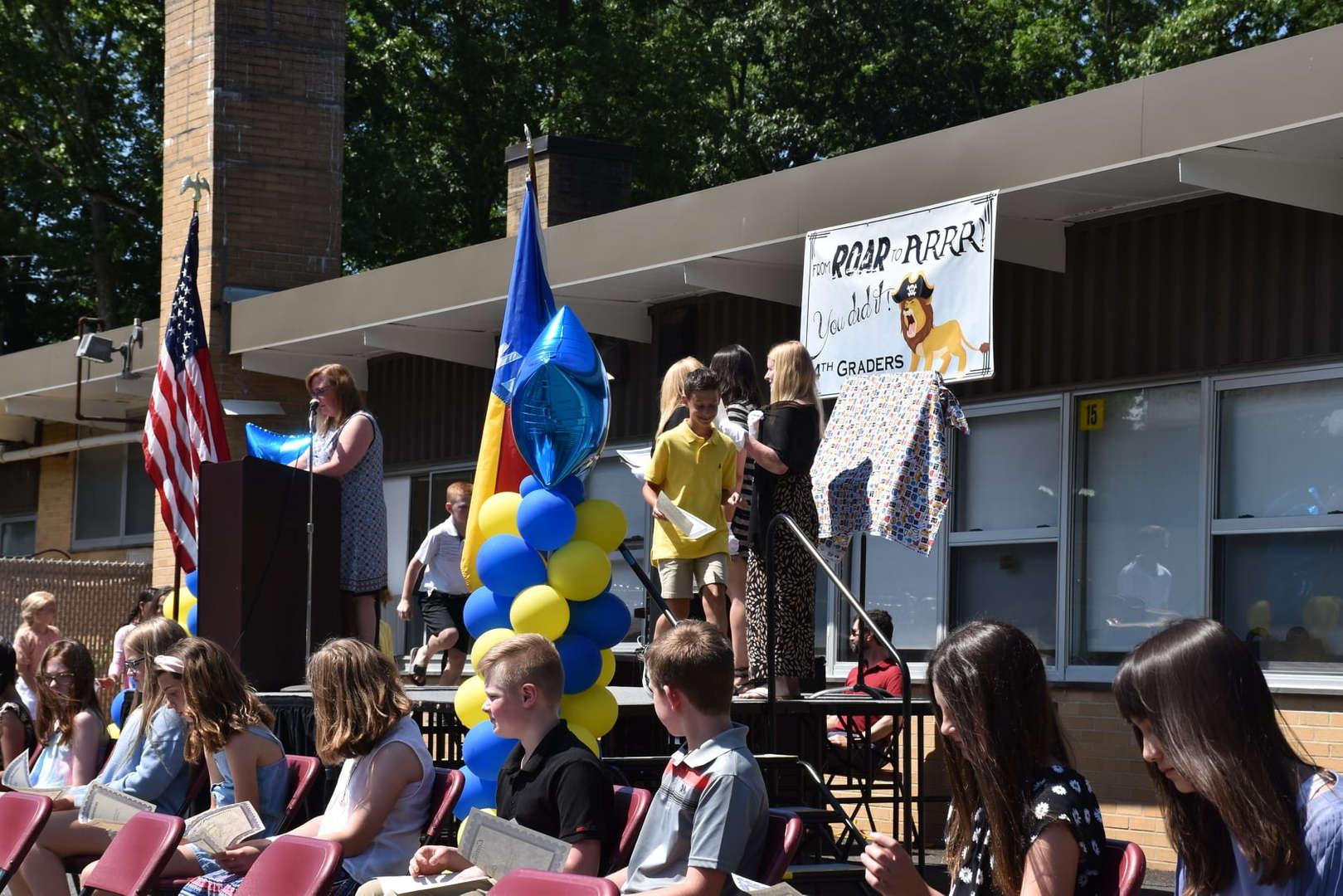 Lincoln Avenue Grade 4 Promotion Ceremony held 6/15/21