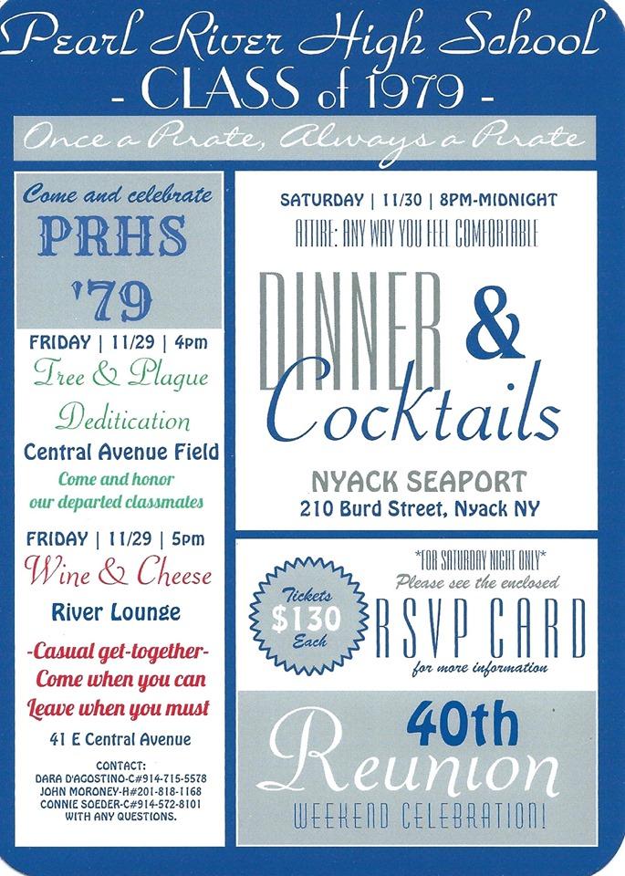 PRHS Class of 1979 Reunion