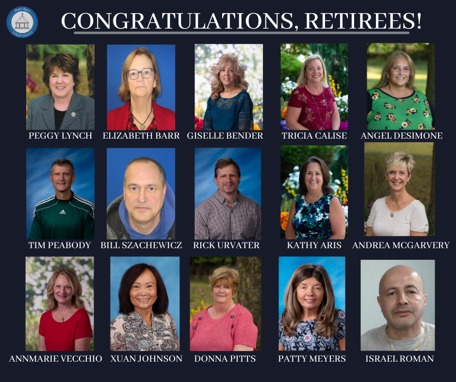 Collage of retirees