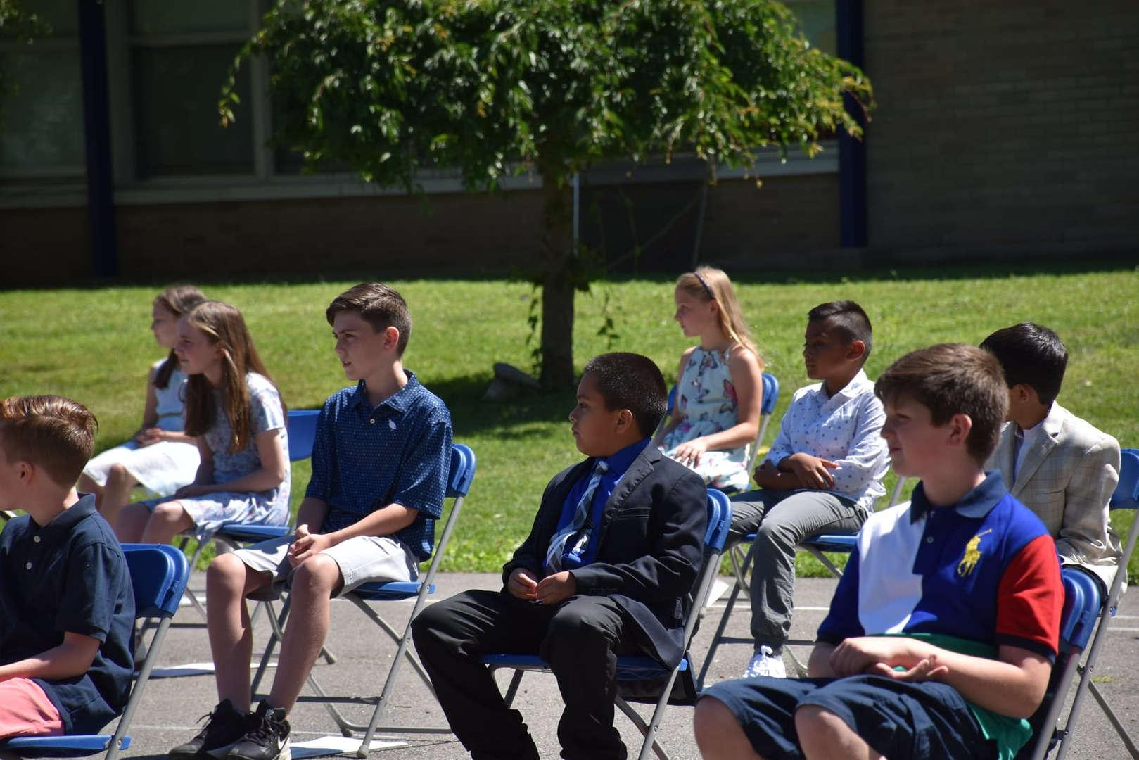 Franklin Avenue Grade 4 Promotion held on 6/17/21.