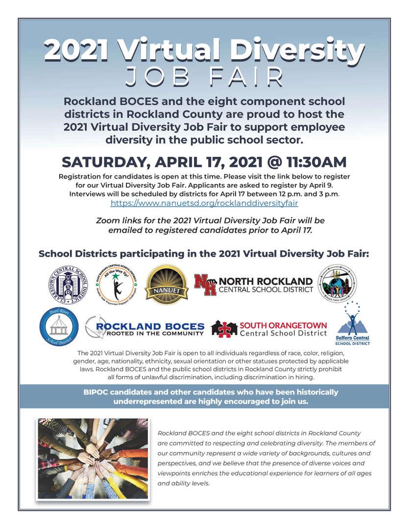 Rockland County Diversity Job Fair