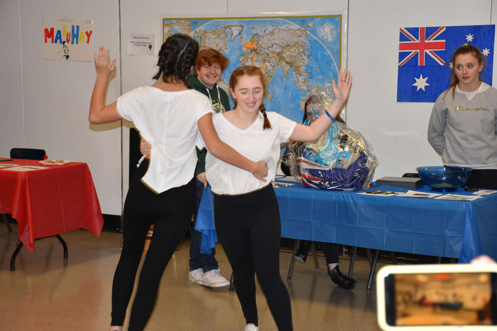 International Night Dancing