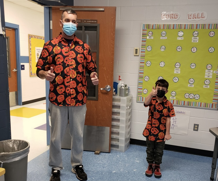 Matching Halloween Shirts