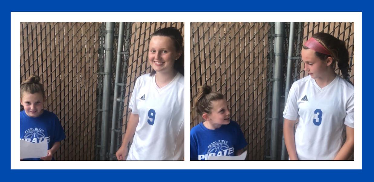 Girls Soccer Interviews