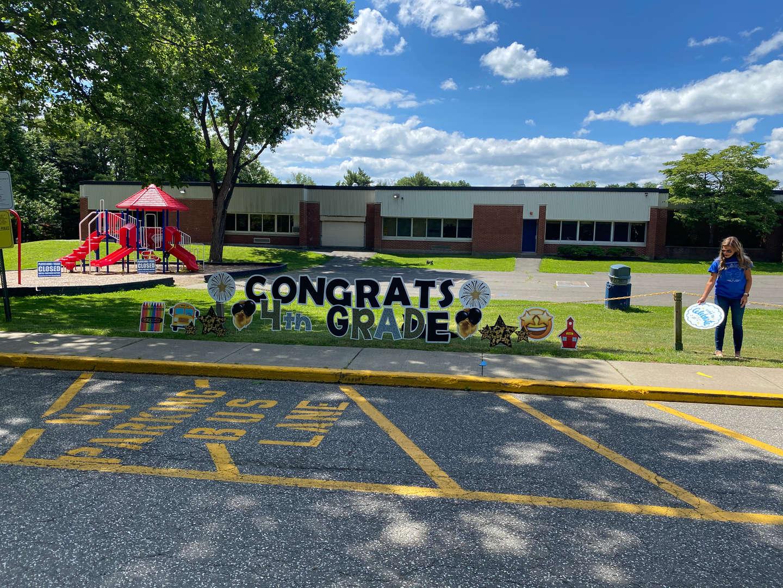 Fourth Grade Promotion Parade