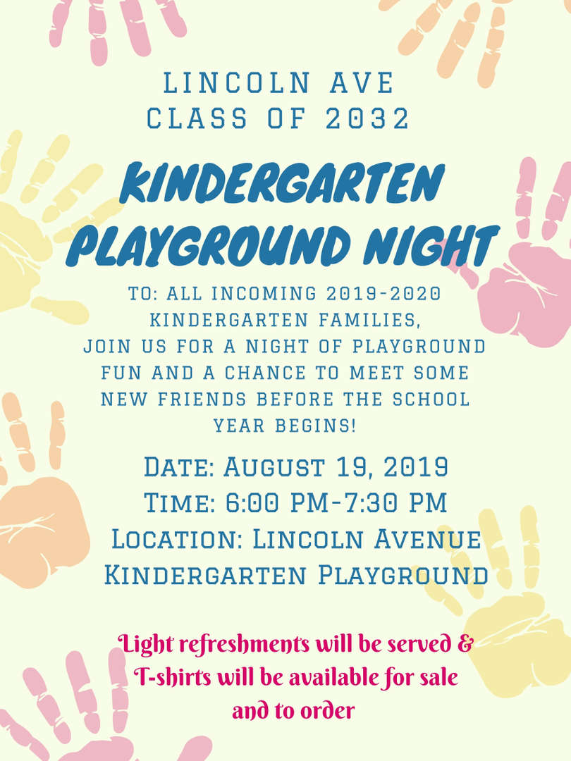 Kindergarten Playground Night