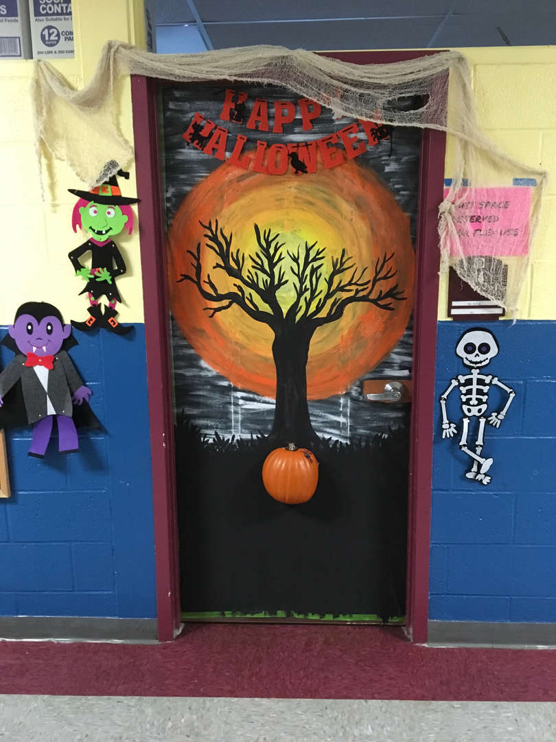 Ms. Girling's Door/Art Room