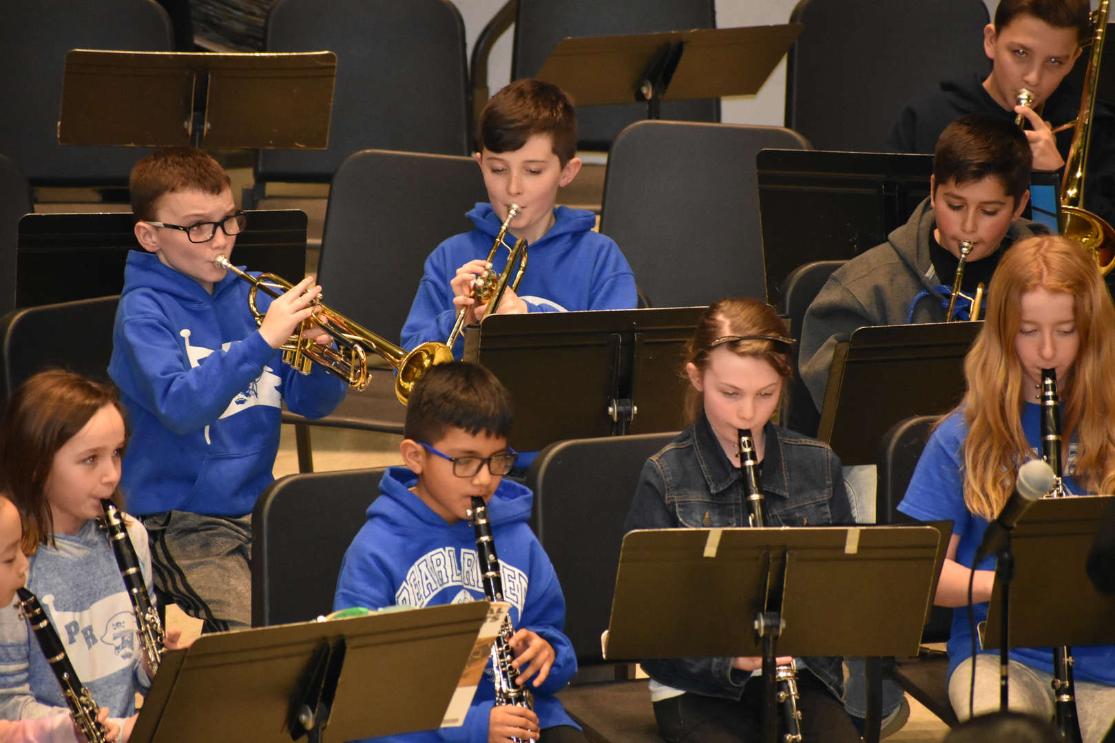 PRMS band practice