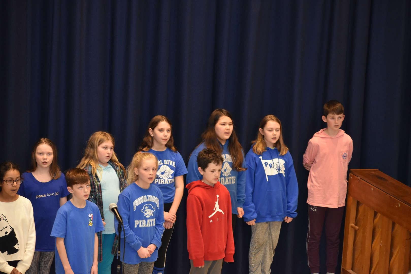 Grade 5 chorus