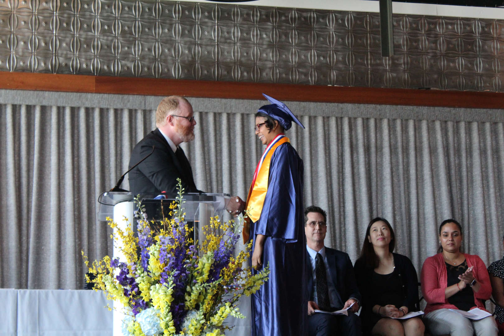 Mr. McBrien and Graduate